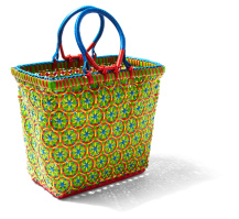 Mowgs yellow myanmar petal basket