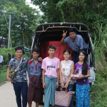 Young group of artisans loading truck for Mowgs shipment to warehouses