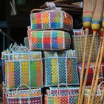 Mowgs baskets ready for collection for transportation